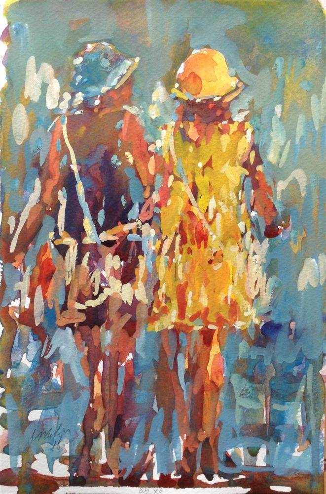 """Figures # 5"" original fine art by Joseph Mahon"