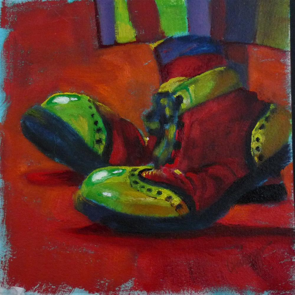 """Steppin' Out"" original fine art by Sharman Owings"