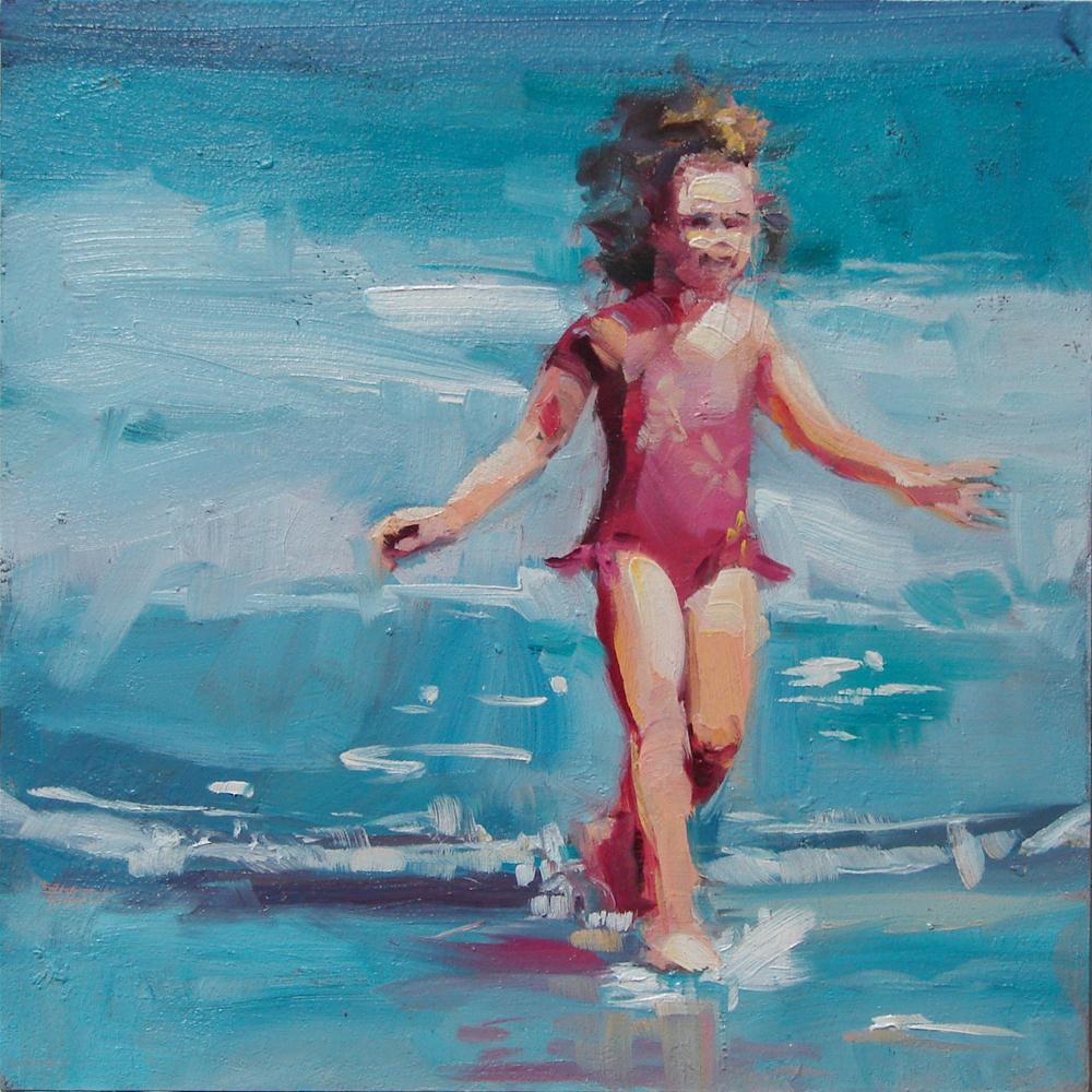 """Giddy"" original fine art by Robin Cheers"