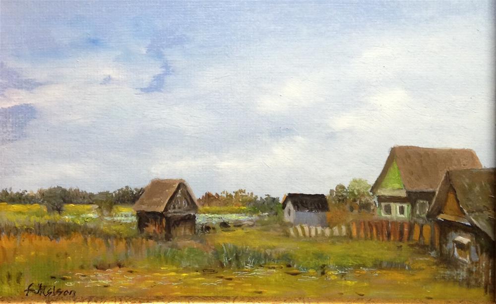 """Homeland"" original fine art by Frank and Liangni Nelson"