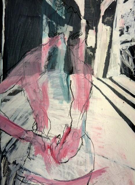 """Rückenansicht / back view"" original fine art by Mila Plaickner"