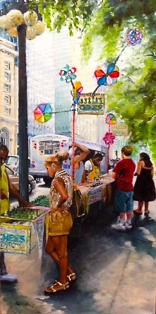 """Chairmen of the Boards"" original fine art by Terri Buchholz"