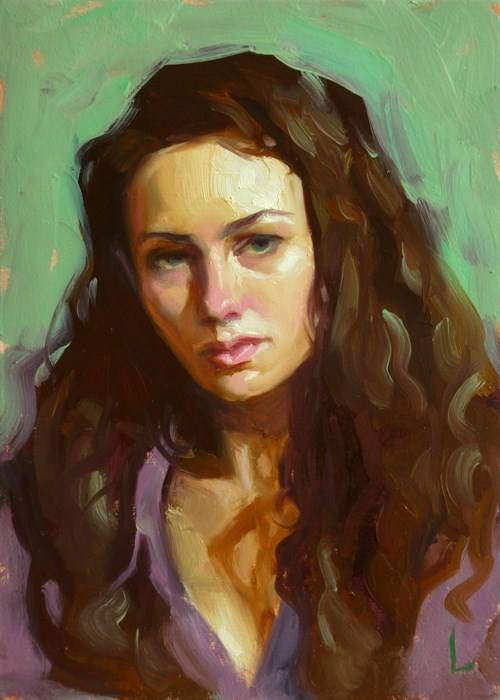 """Animus"" original fine art by John Larriva"
