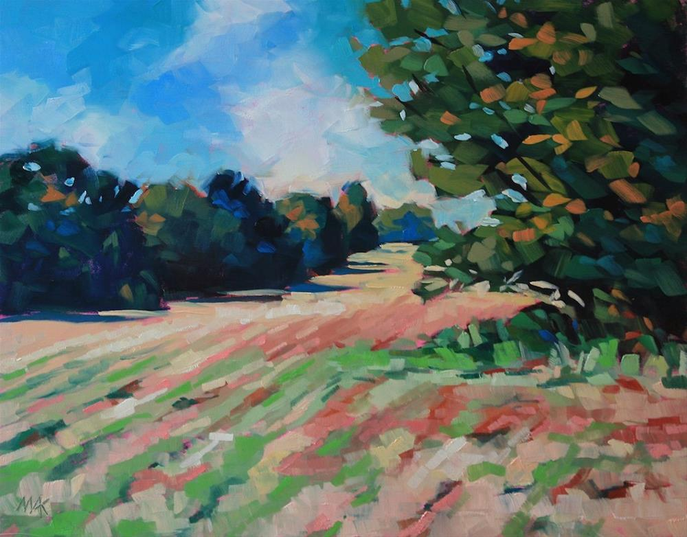 """Robinson Woods"" original fine art by Mary Anne Cary"