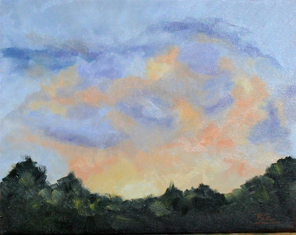 """Sunrise"" original fine art by Maria Reed"