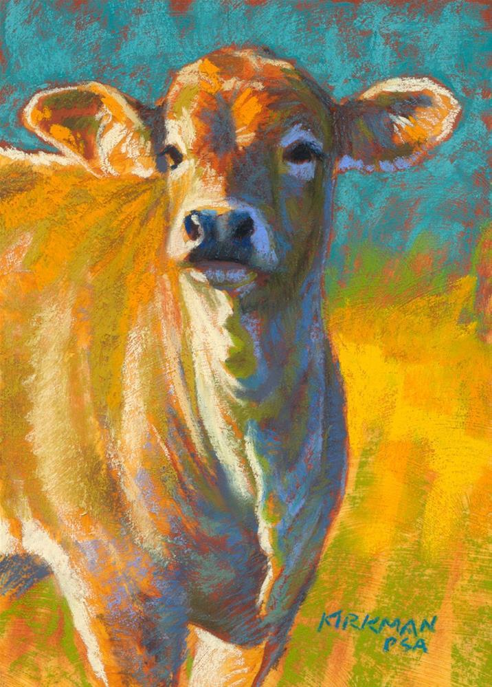 """Saffron"" original fine art by Rita Kirkman"