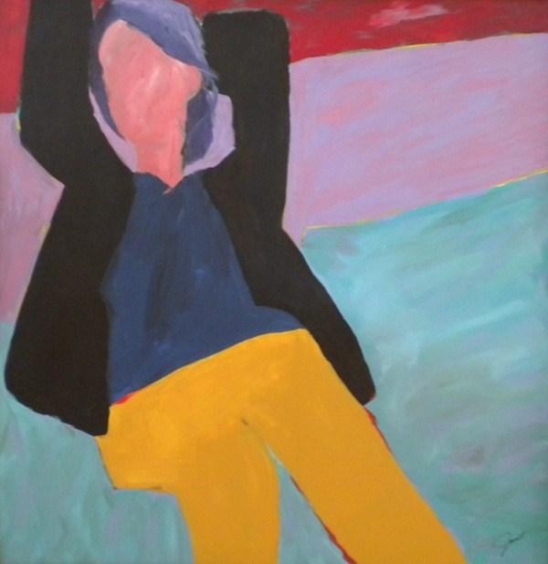 """Hanging Out"" original fine art by Janet Bludau"
