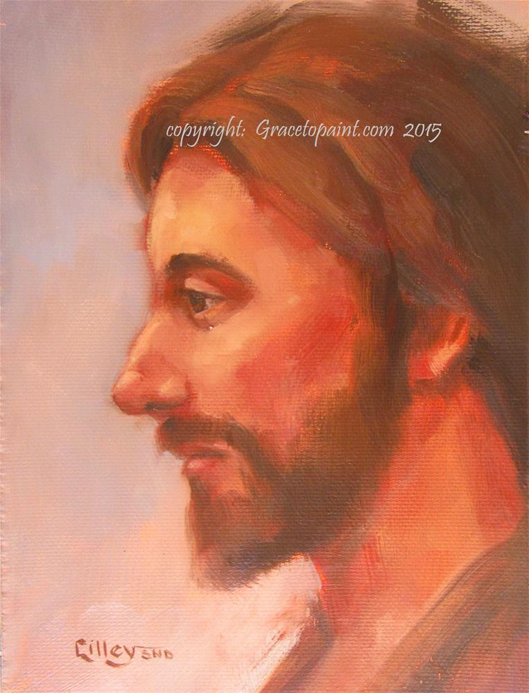 """Jesus "" original fine art by Maresa Lilley"