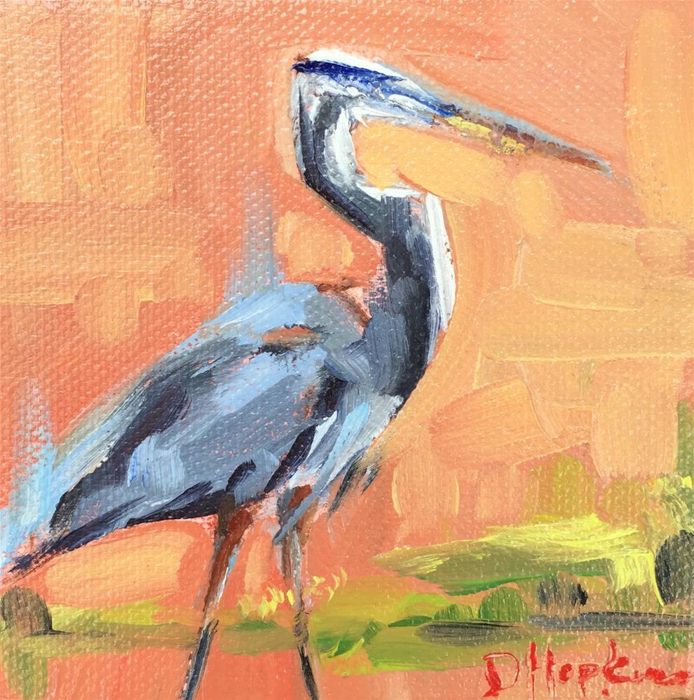 """Rebecca"" original fine art by Denise Hopkins"