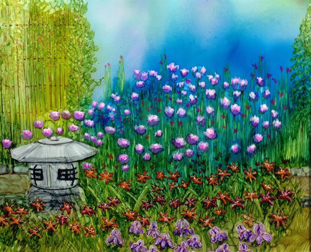 """Dad's Garden"" original fine art by Korinne Carpino"
