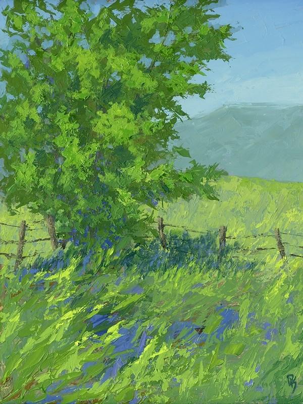 """Edge of Spring"" original fine art by David King"