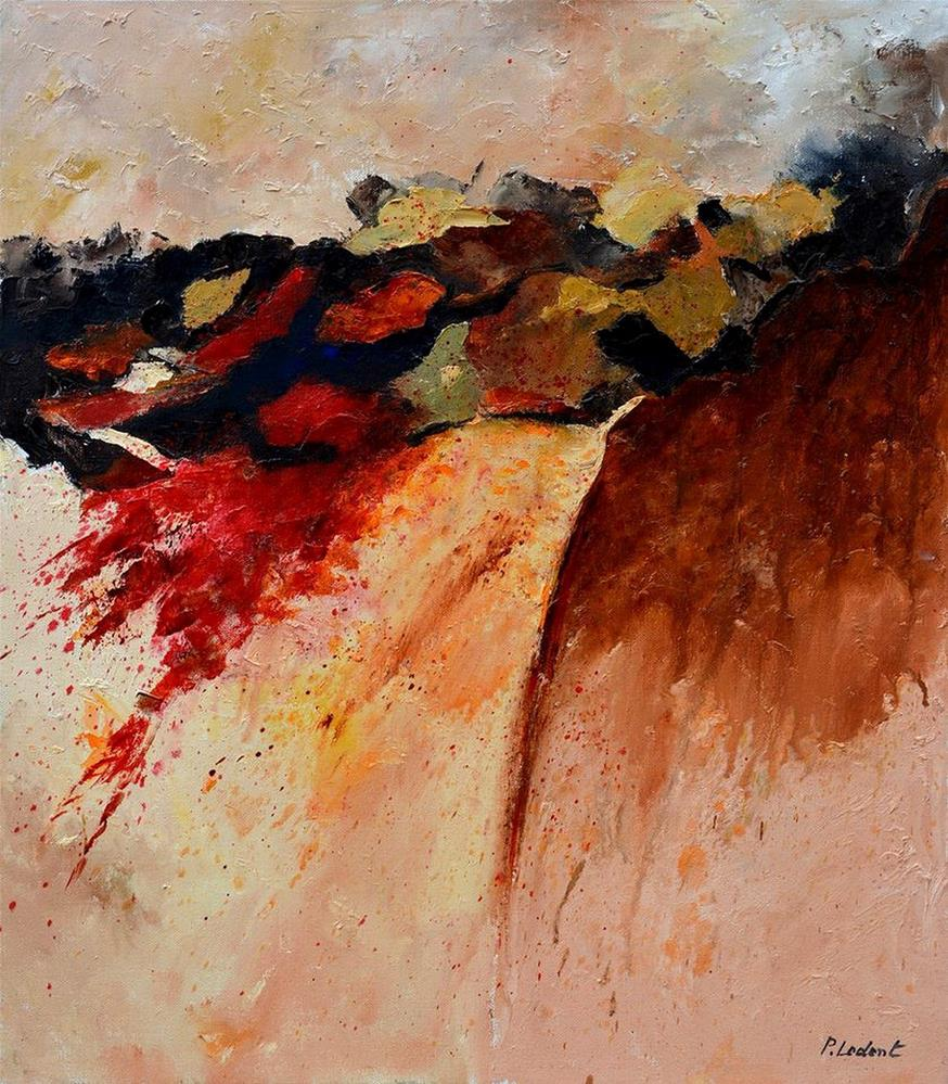 """Abstract 7861"" original fine art by Pol Ledent"