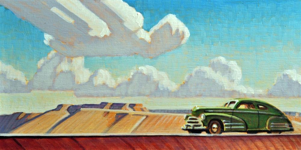 """Desert Skies"" original fine art by Robert LaDuke"