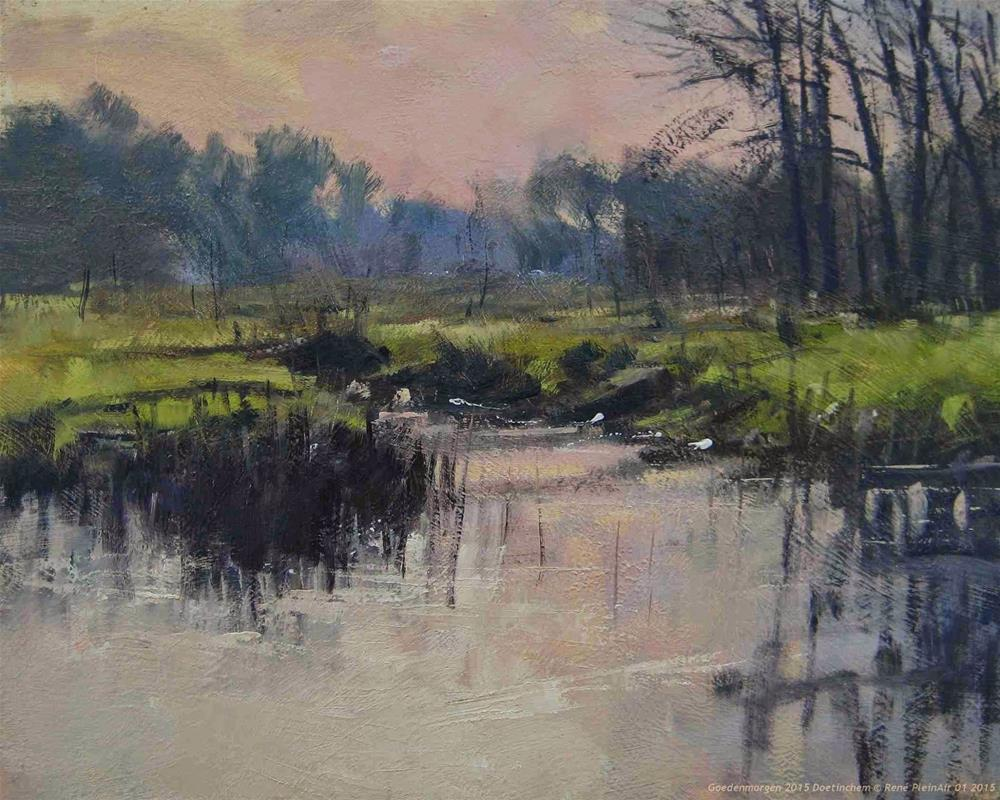 """Goodmorning 2015 Doetinchem, The Netherlands"" original fine art by René PleinAir"