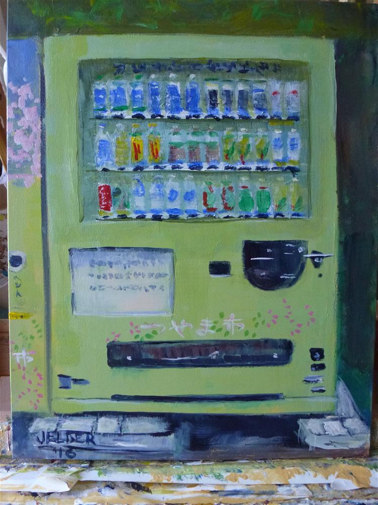 """""""Thirsty"""" original fine art by Judith Elder"""