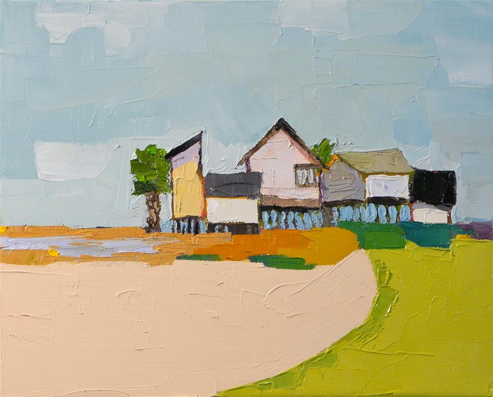 """Coastal Living II"" original fine art by Donna Walker"