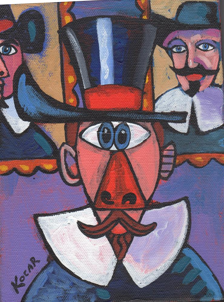 """Pablo's Dutch Masters"" original fine art by George Kocar"