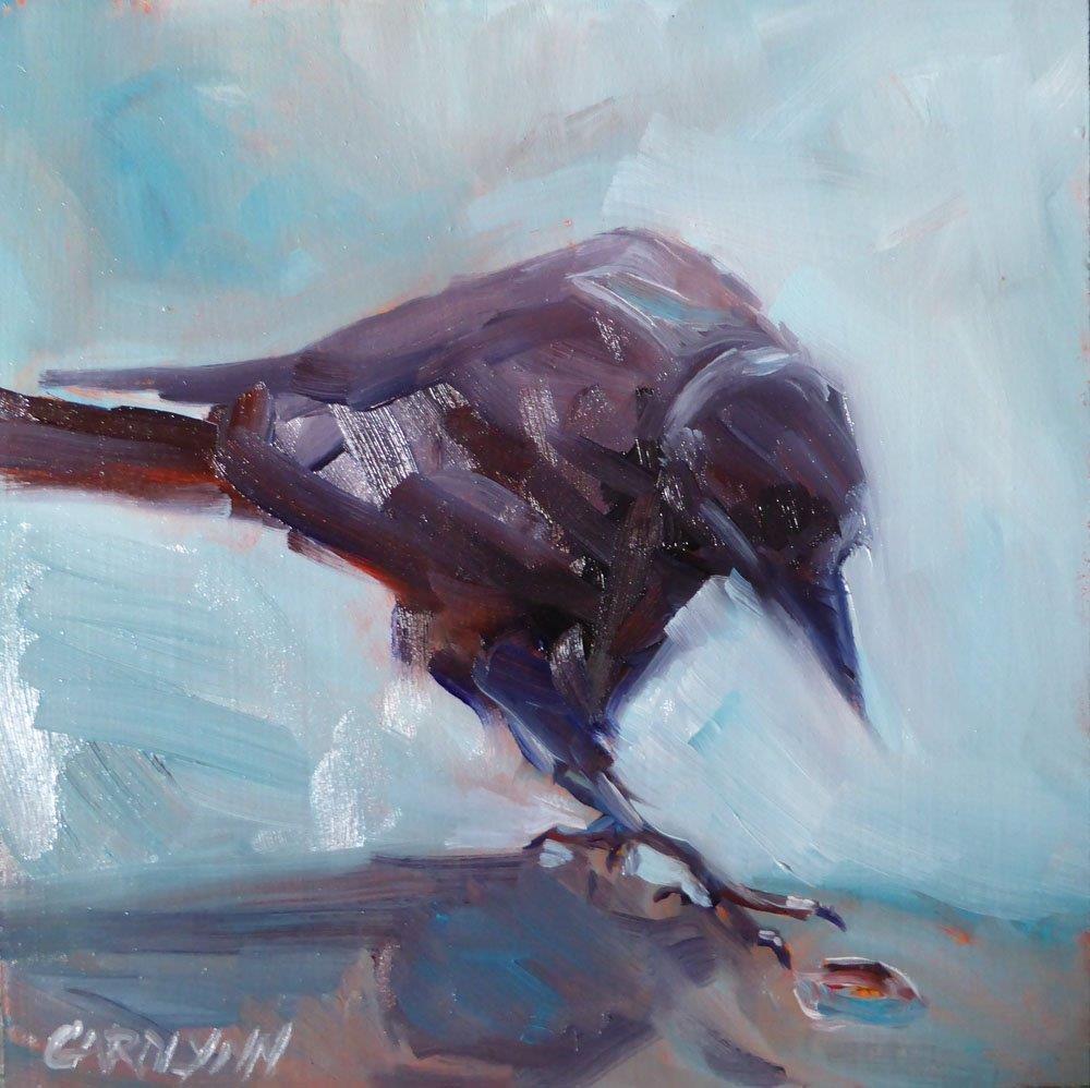 """""""Further Investigation"""" original fine art by Carolynn Doan"""