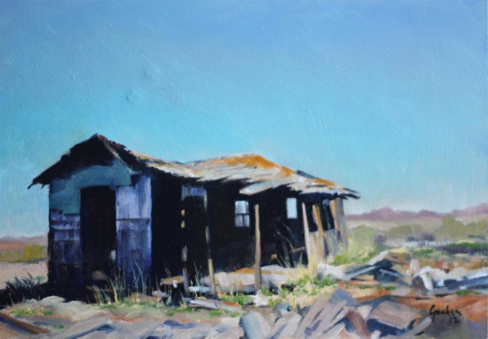 """Shotgun Shack"" original fine art by Graham Townsend"