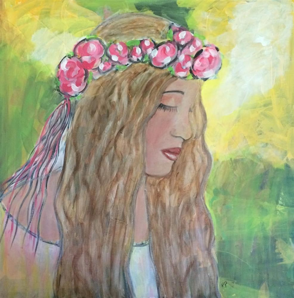 """Dreamer"" original fine art by Kali Parsons"