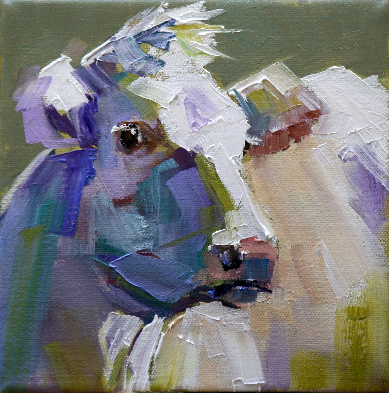 """suspect"" original fine art by Carol Carmichael"