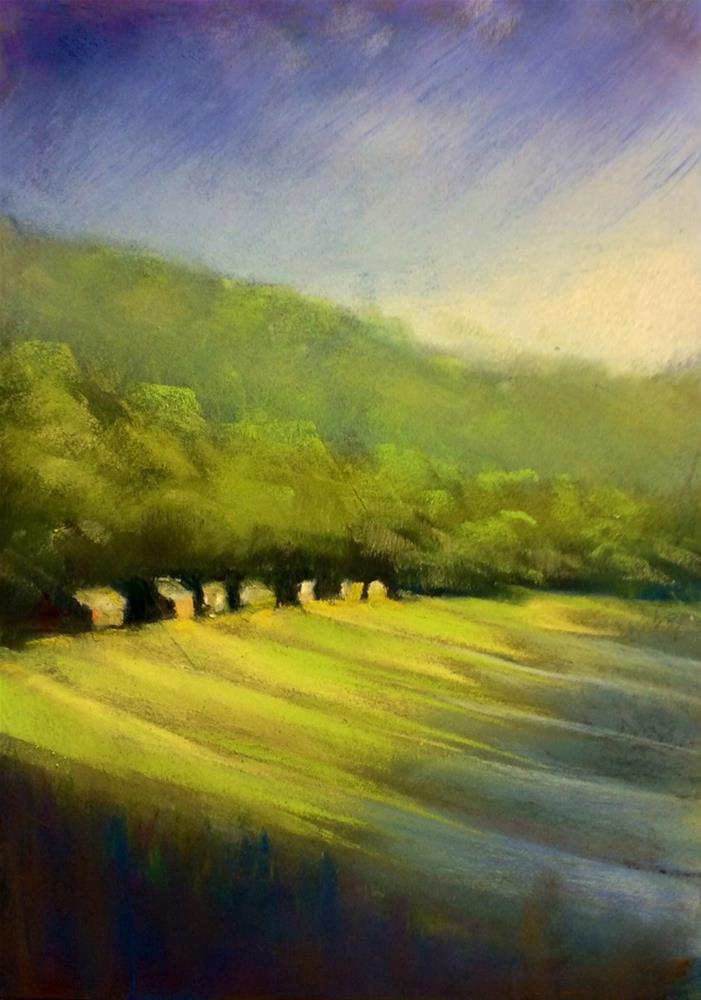 """Promised Land"" original fine art by Judy Albright"