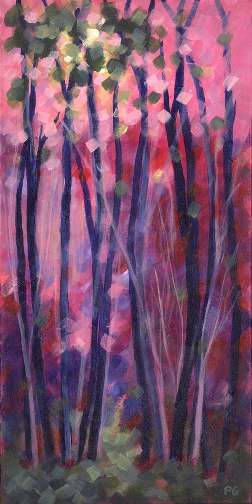Red Sky at Morning original fine art by Pamela Gatens