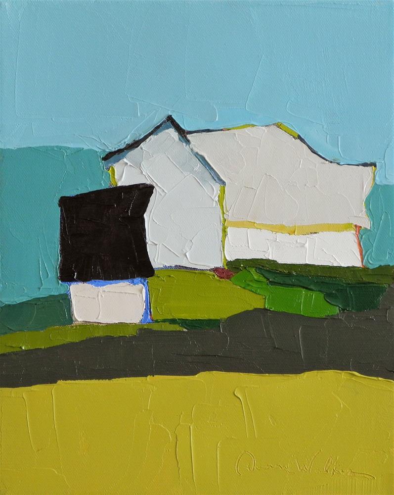 """This Green Land"" original fine art by Donna Walker"