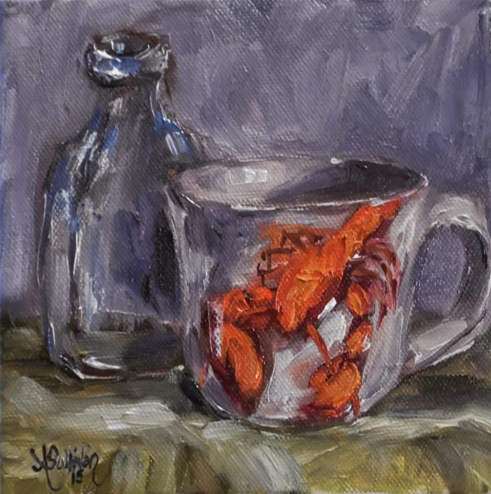 """Souvenirs still life painting by Alabama Artist Angela Sullivan"" original fine art by Angela Sullivan"