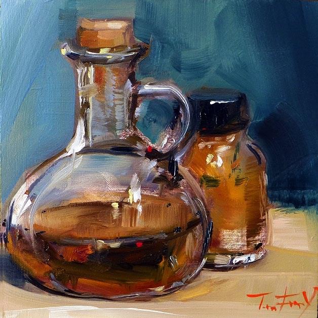 """""""Stillleben"""" original fine art by Jurij Frey"""
