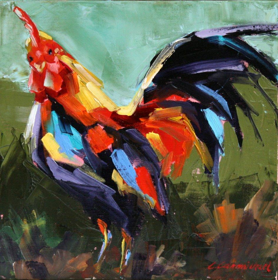 """""""all that"""" original fine art by Carol Carmichael"""