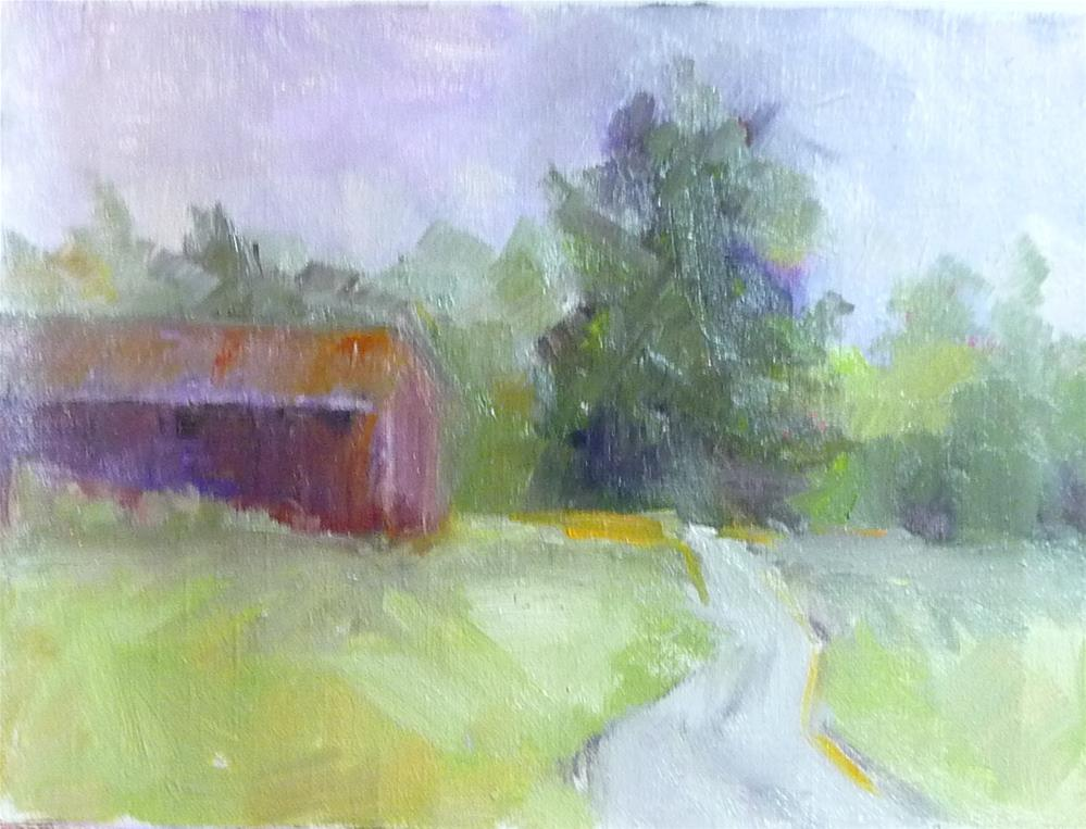 """Country Road"" original fine art by Carol Josefiak"