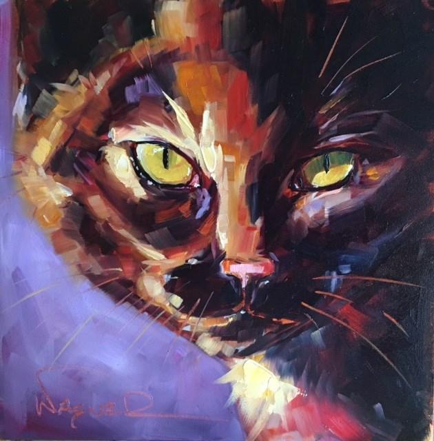 """TORTITUDE"" original fine art by Olga Wagner"