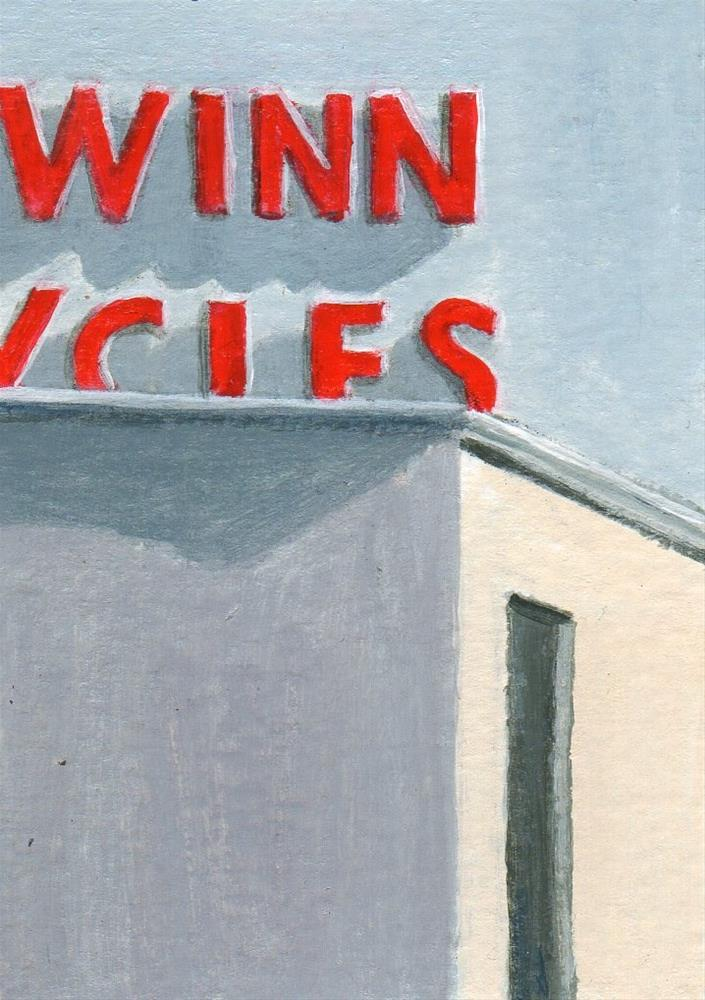 """Meeting Shadows"" original fine art by Debbie Shirley"