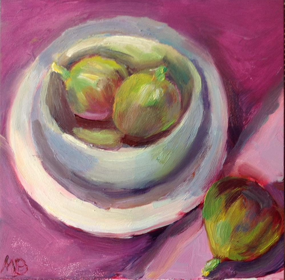 """Figs"" original fine art by Marcia Bergtholdt"