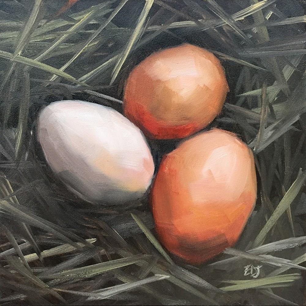 """""""Found"""" original fine art by Elizabeth Dawn Johnston"""
