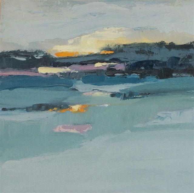 """Landscape 62"" original fine art by Ewa Kunicka"