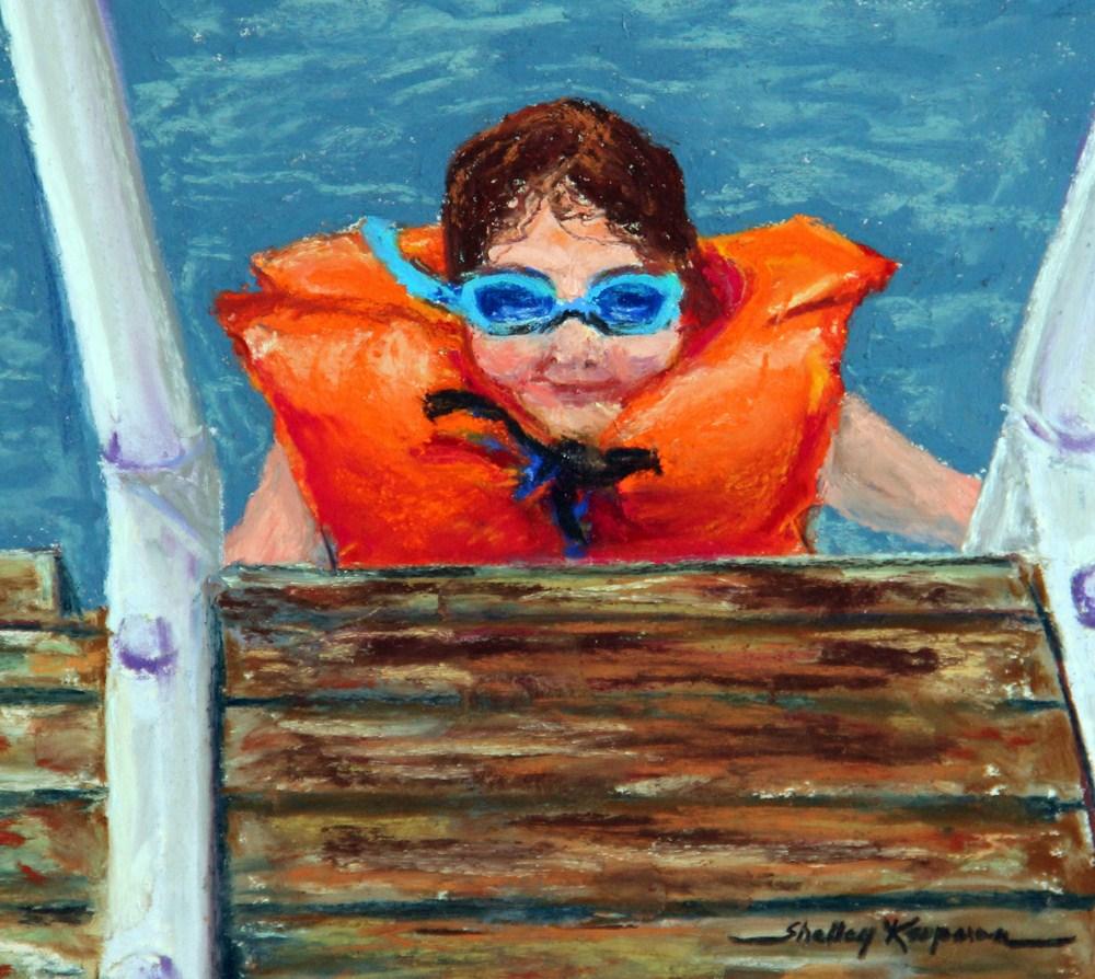 """Lake Couture"" original fine art by Shelley Koopmann"