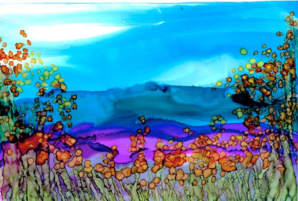 """Meadow"" original fine art by Kelly Alge"
