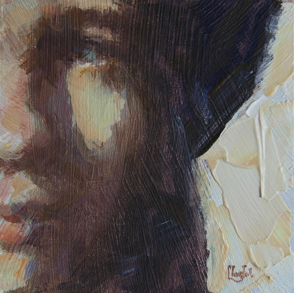 """Rembrandt's Hat"" original fine art by Chantel Barber"