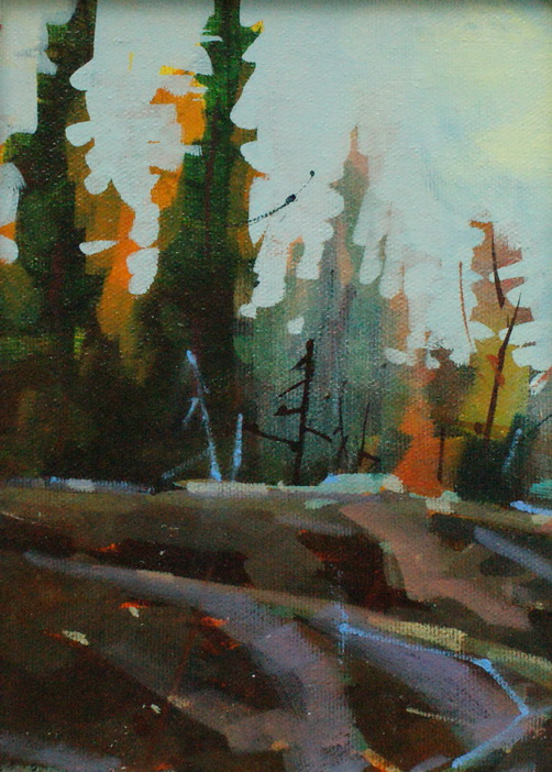 """Fall Shapes"" original fine art by Brian Buckrell"