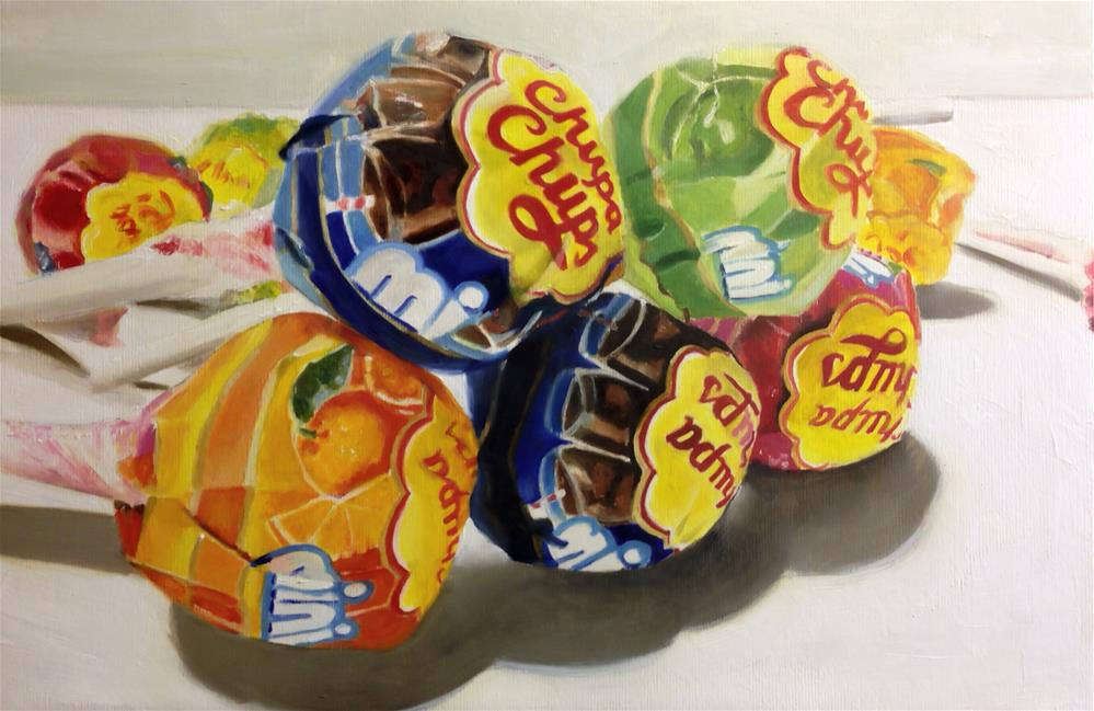 """Chupa Chups"" original fine art by James Coates"