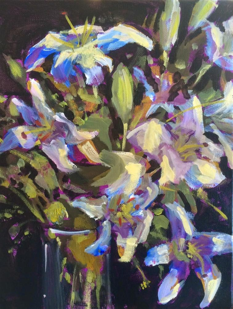 """Spring Has Sprung (almost)"" original fine art by Kelley MacDonald"