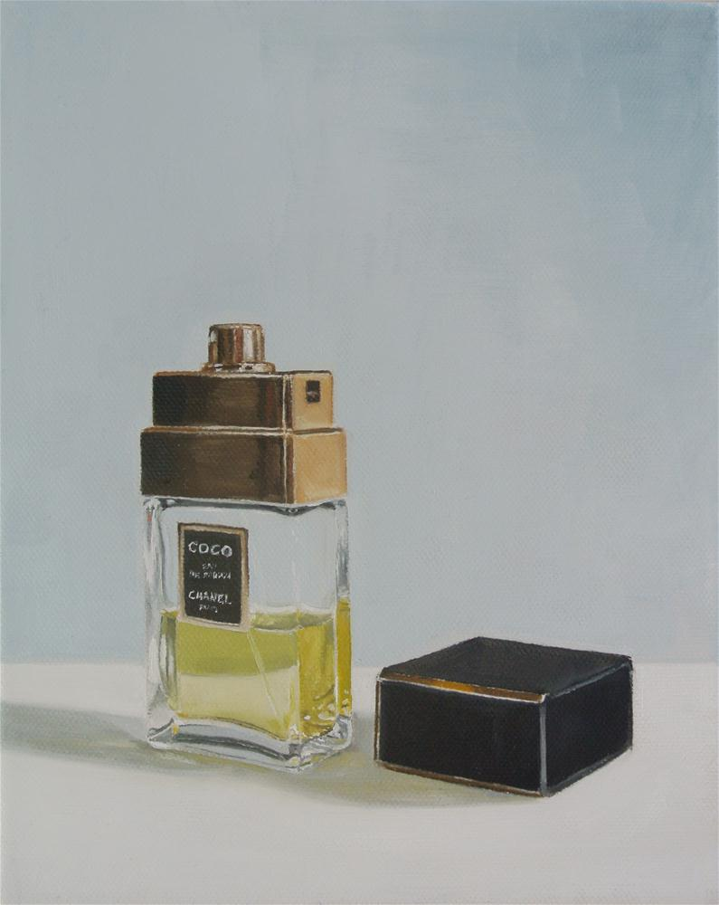"""Coco Chanel Perfume"" original fine art by James Coates"