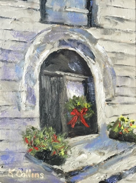 """Stately and Elegant"" original fine art by Kathy Collins"