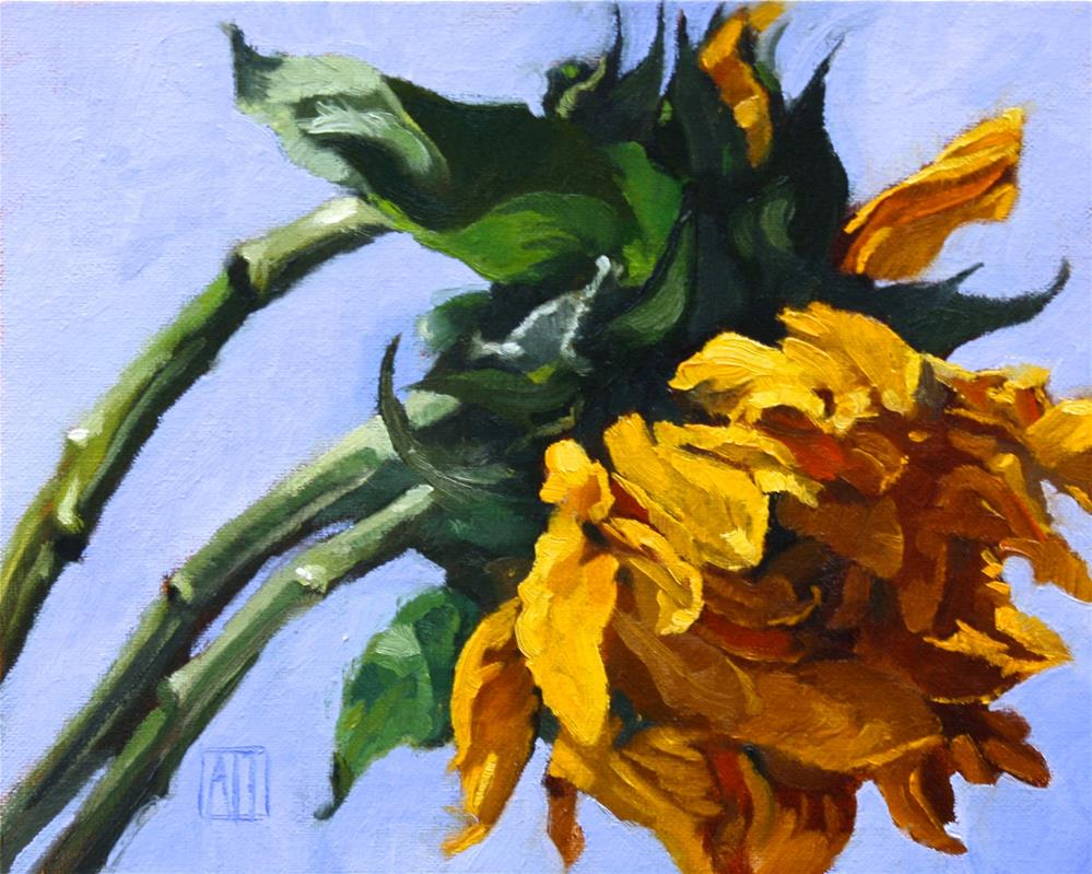 """Mother's Day Sunflowers"" original fine art by Amy Irwin Tank"