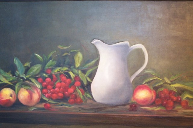 """Fruit of life"" original fine art by Astrid Buchhammer"
