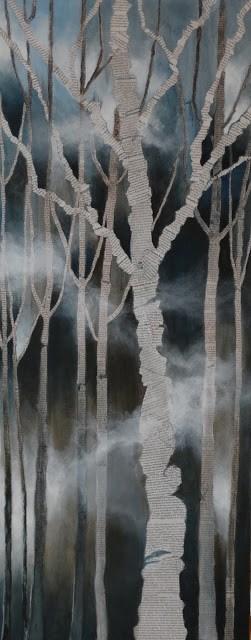 """Silent Renewal"" original fine art by Anne Ducrot"