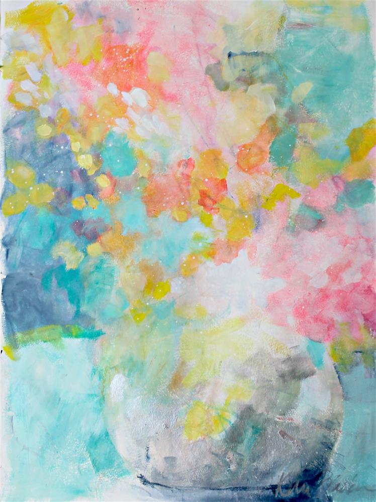 """Spring Explosion"" original fine art by Kerri Blackman"