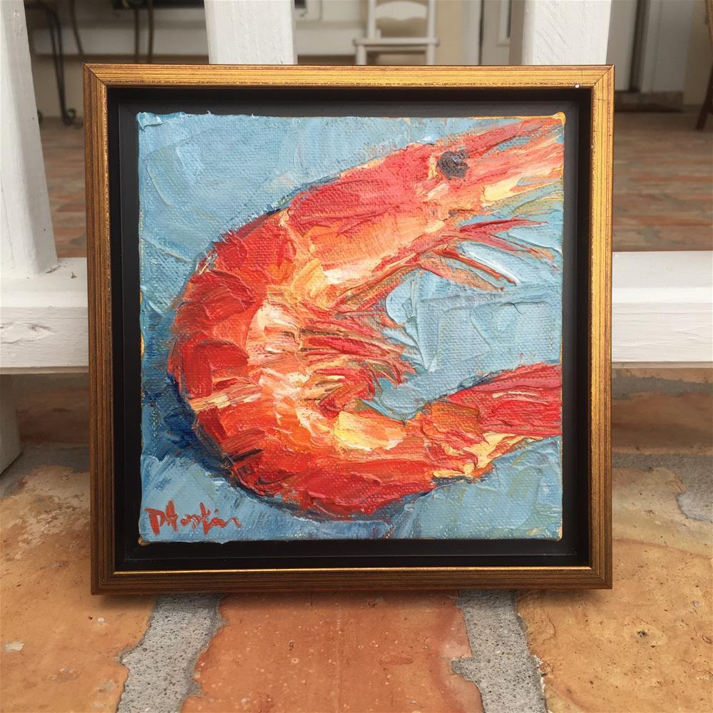 """""""Progress, Framed"""" original fine art by Denise Hopkins"""